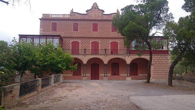 Minas de Bellmunt del Priorat, casa de las minas