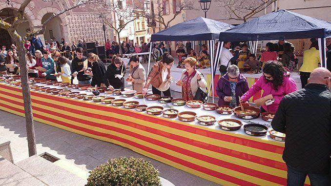 Fiesta de la Truita amb suc de Ulldemolins