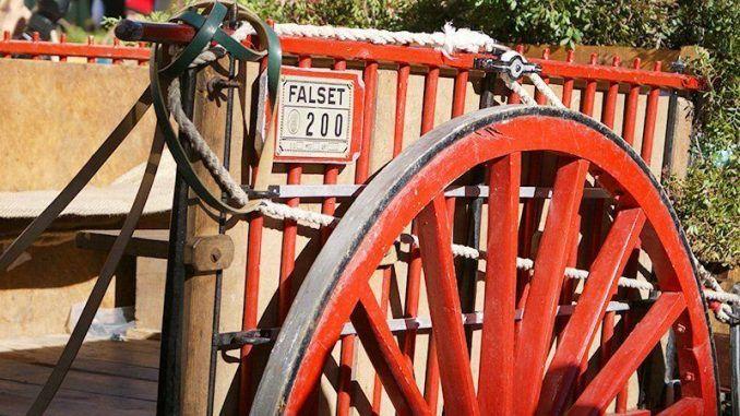 carro agrícola restaurado