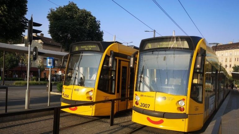 Tranvías Budapest